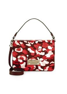 Furla Camouflage Leather Crossbody Bag