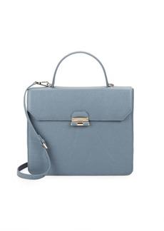 Furla Chiara Leather Top Handle Bag