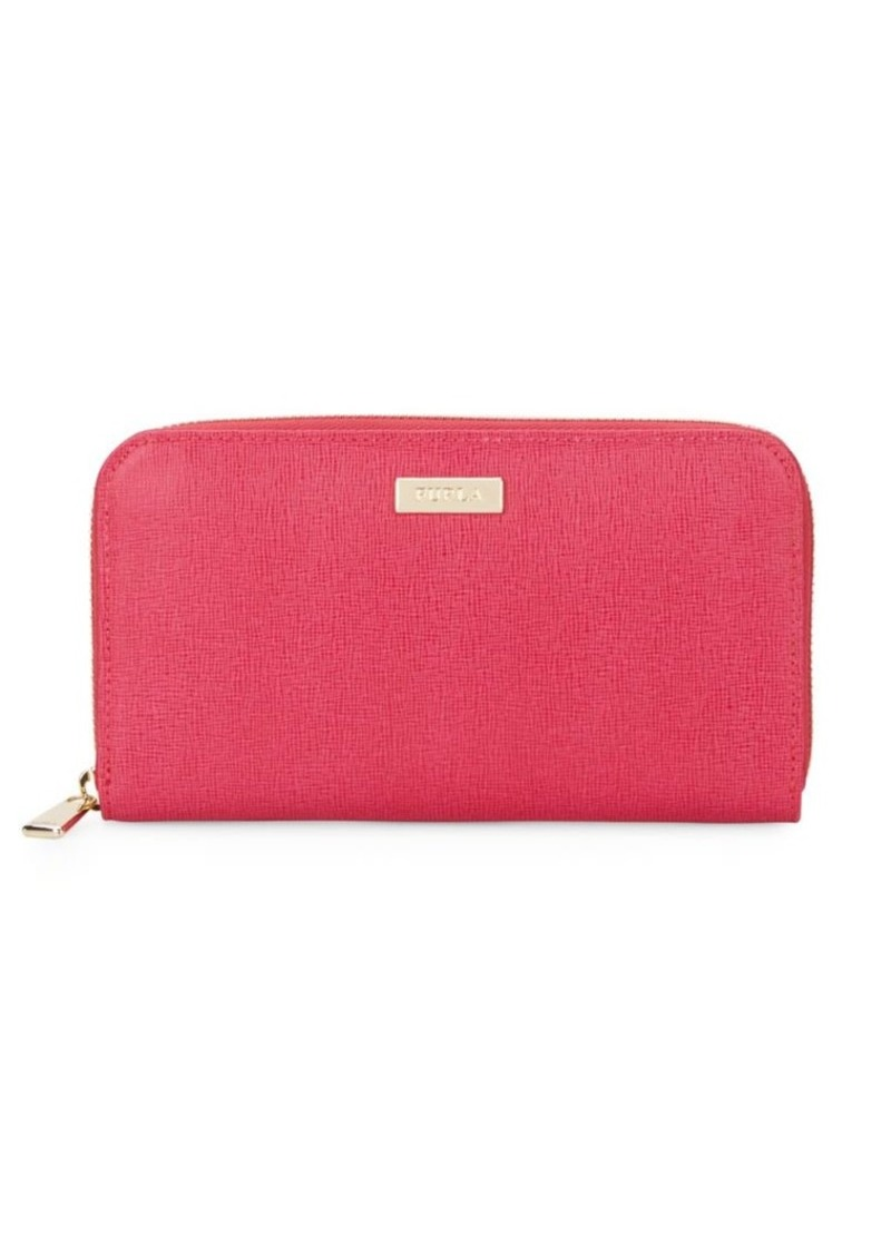 Furla Classic Extra Large Saffiano Wallet & Gift Box
