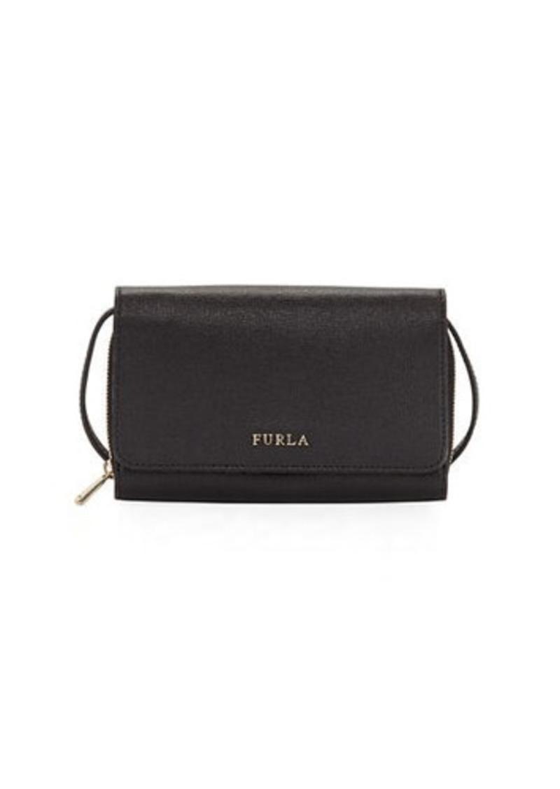 369773d0ea Classic Medium Saffiano Leather Crossbody Pouch Bag