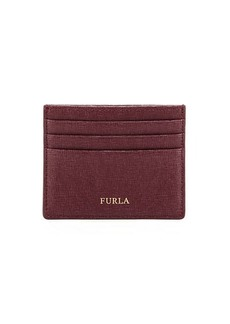 Furla Classic Saffiano Leather Card Case