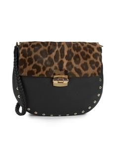 Furla Club Exotic Leather Crossbody Bag