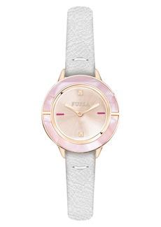 Furla Club Leather Strap Watch, 26mm