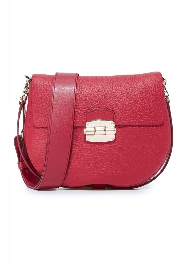 Furla Club Small Saddle Bag