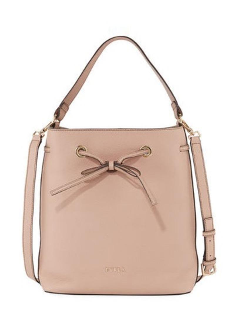 Furla Costanza Medium Leather Bucket Bag
