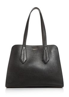 Furla Diletta Leather Satchel