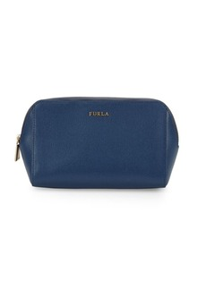 Furla Electra Set of Three Leather Cosmetic Cases