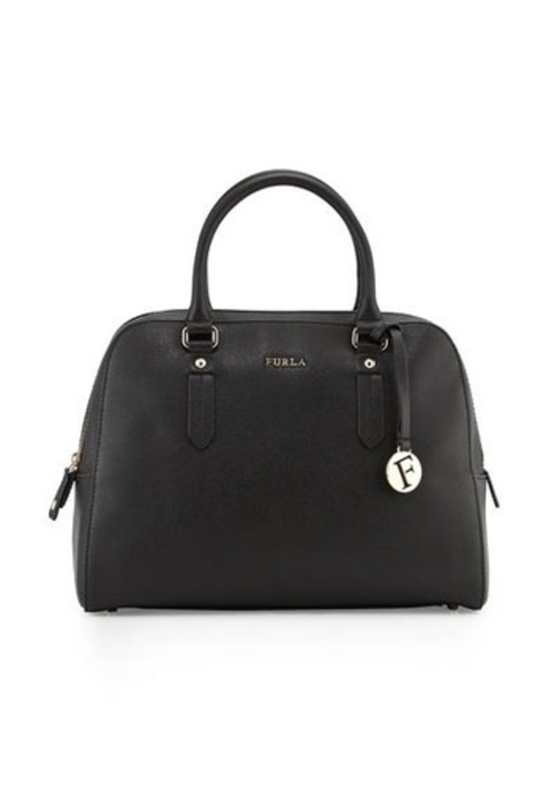 Furla Furla Elena Medium Leather Satchel Bag