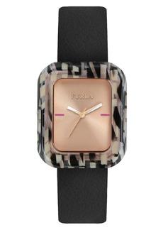 Furla Elisir Leather Strap Watch, 29mm x 35mm
