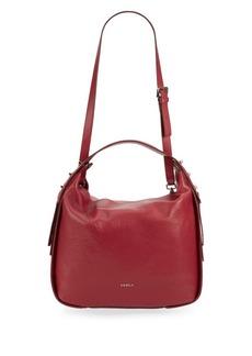 Furla Eva Leather Hobo Bag