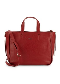 Furla Eva Textured Leather Tote