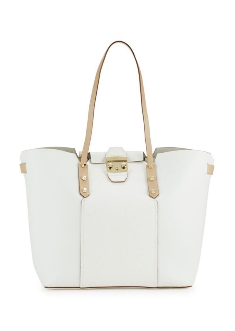 furla furla gaia leather tote bag handbags shop it to me. Black Bedroom Furniture Sets. Home Design Ideas