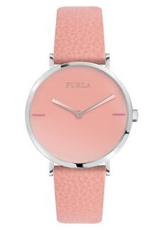 Furla Giada Leather Strap Watch, 33mm