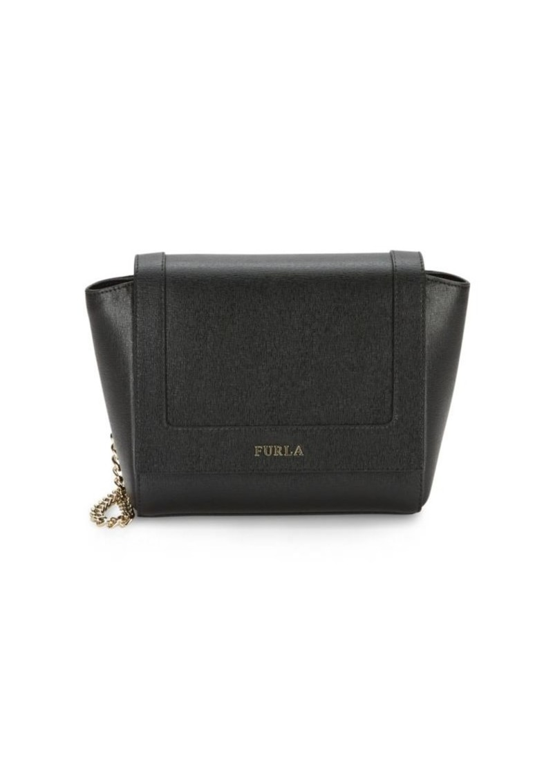 Furla Ginerva Mini Leather Crossbody Bag
