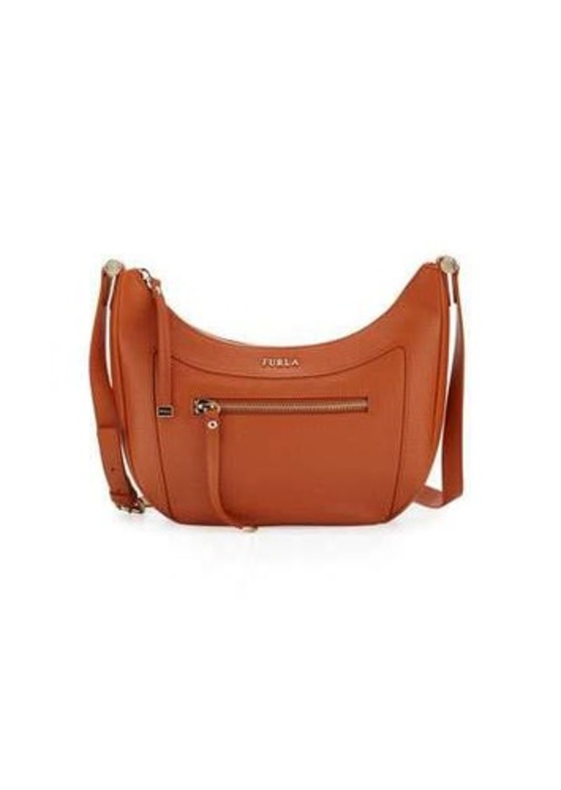 Furla Ginevra Leather Crossbody Bag