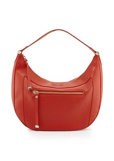 Furla Ginevra Medium Leather Hobo Bag