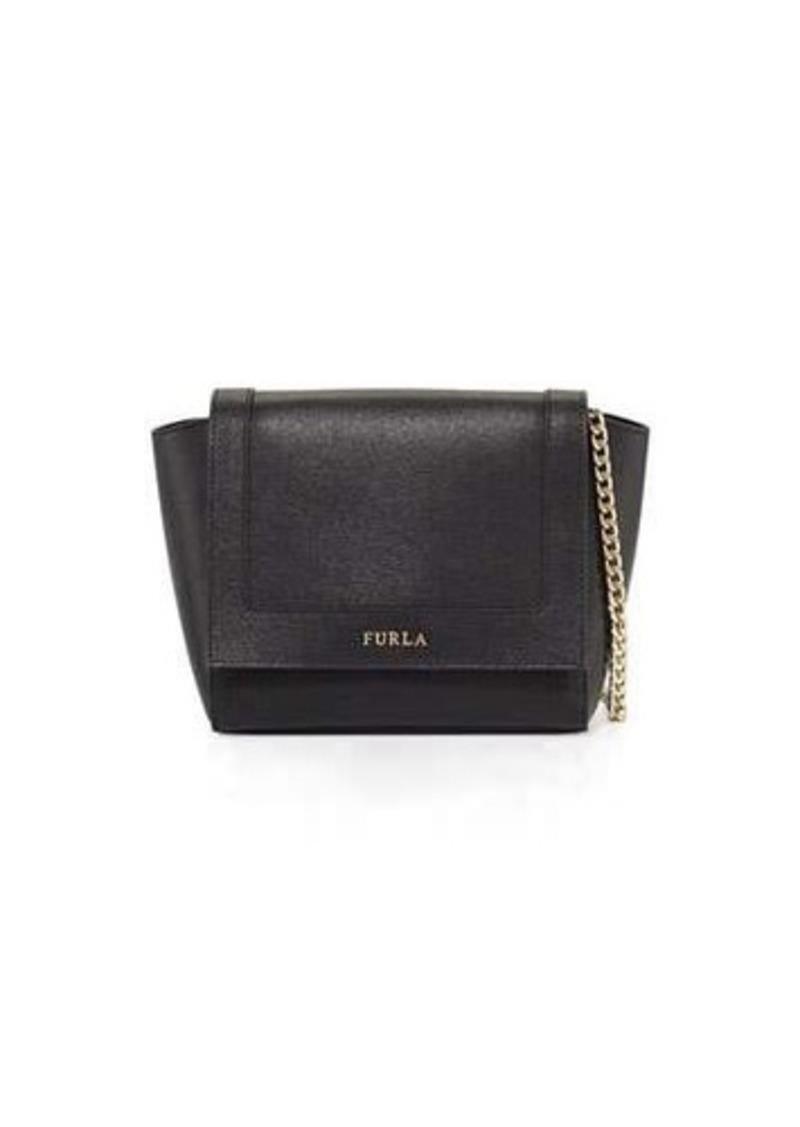 Furla Furla Ginevra Mini Flap Leather Crossbody Bag  4968ff0eb3a43