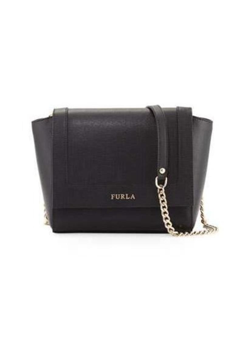 bedfa9fb257c Furla Furla Ginevra Mini Flap Leather Crossbody Bag