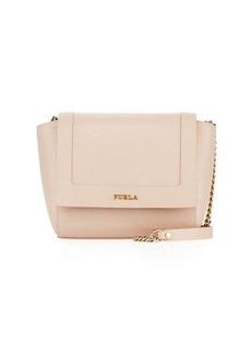 Furla Ginevra Mini Flap Leather Crossbody Bag