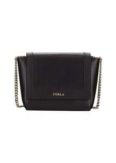 Furla Ginevra Mini Saffiano Leather Crossbody Bag