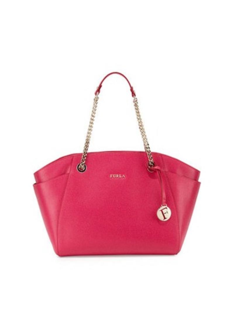 furla furla julia east west leather tote bag handbags shop it to me. Black Bedroom Furniture Sets. Home Design Ideas