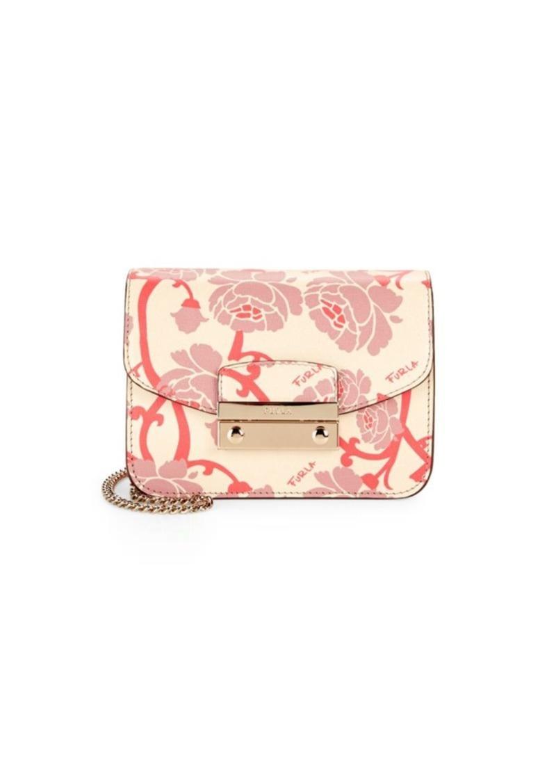 a5ed7b765 Furla Julia Leather Mini Shoulder Bag Now $134.99