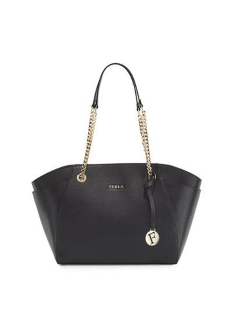 Furla Furla Julia Medium Leather Tote Bag Now  155.00 3a0961643a320