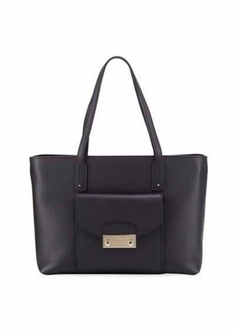 Furla Furla Julia Medium Pebbled Leather Tote Bag  7f5416aaba1dc