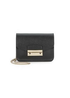 Furla Julia Mini Saffiano Leather Crossbody