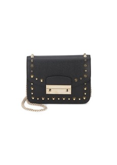 Furla Julia Mini Studded Leather Crossbody Bag