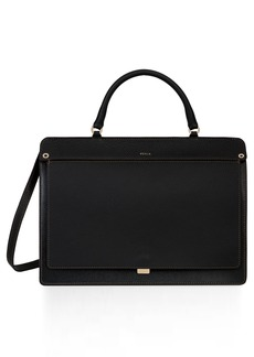 Furla Like Leather Top Handle Satchel