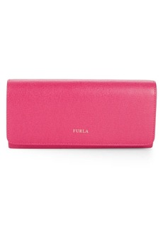 Furla Logo Leather Continental Wallet