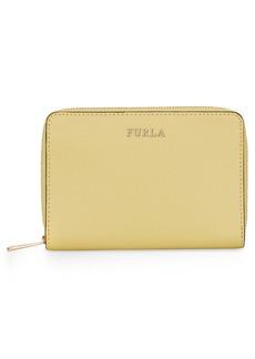 Furla Medium Babylon Saffiano Leather Zip Around Wallet