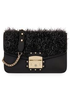 Furla Metropolis Arabesque Leather Shoulder Bag