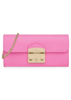 Furla Metropolis Leather Wallet on a Chain