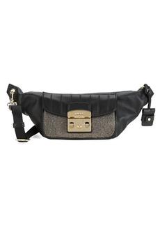 Furla Metropolis Mini Leather Fanny Pack