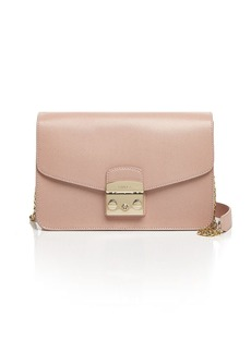 Furla Metropolis Small Leather Shoulder Bag
