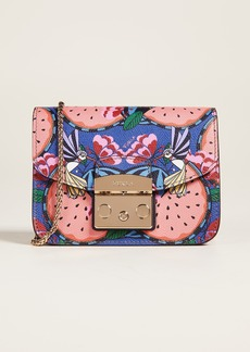 Furla Metropolis Watermelon Cross Body Bag