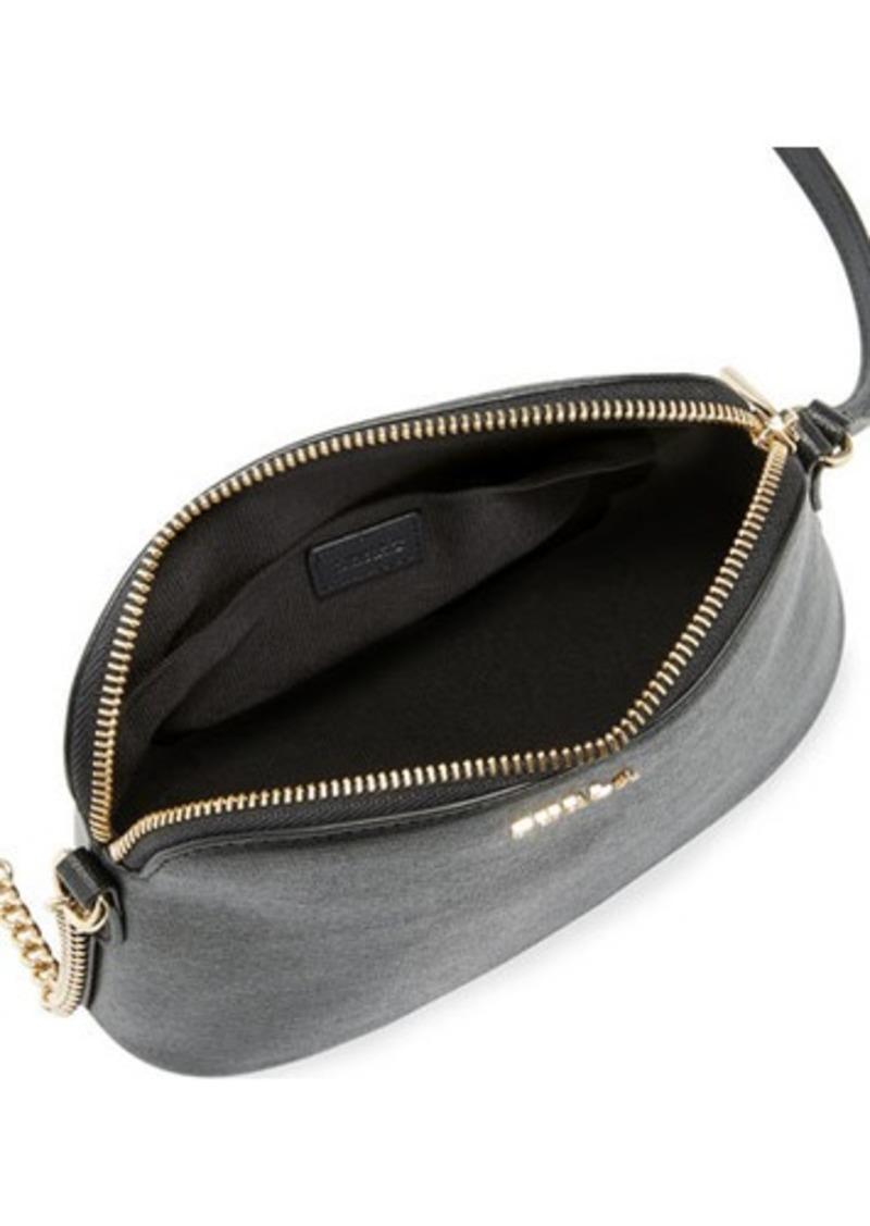 no sale tax shop best sellers speical offer SALE! Furla Furla Miky Large Saffiano Leather Dome Crossbody Bag