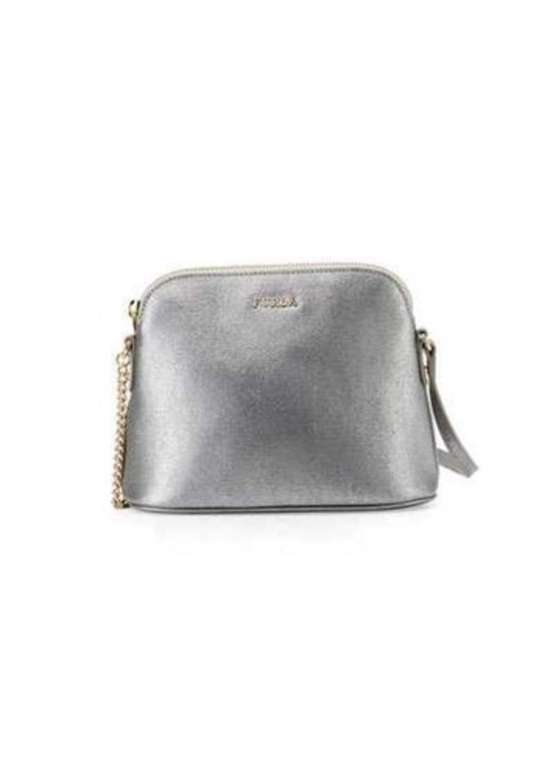 On Sale today! Furla Furla Miky Leather Dome Crossbody Bag 4b8822611f99b