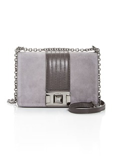 Furla Mimi Mini Suede Convertible Crossbody