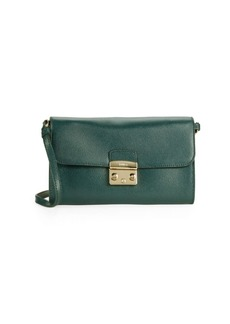 Furla Mini Leather Crossbody Bag