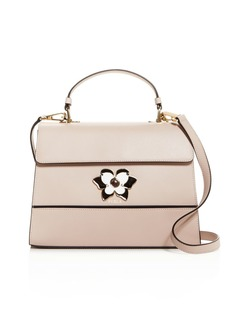 Furla Mughetto Medium Butterfly-Embellished Leather Crossbody