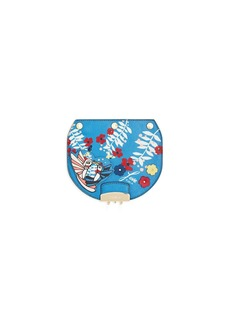 Furla MY PLAY Interchangeable Metropolis Mini Mayday Hummingbird Print Leather Flap