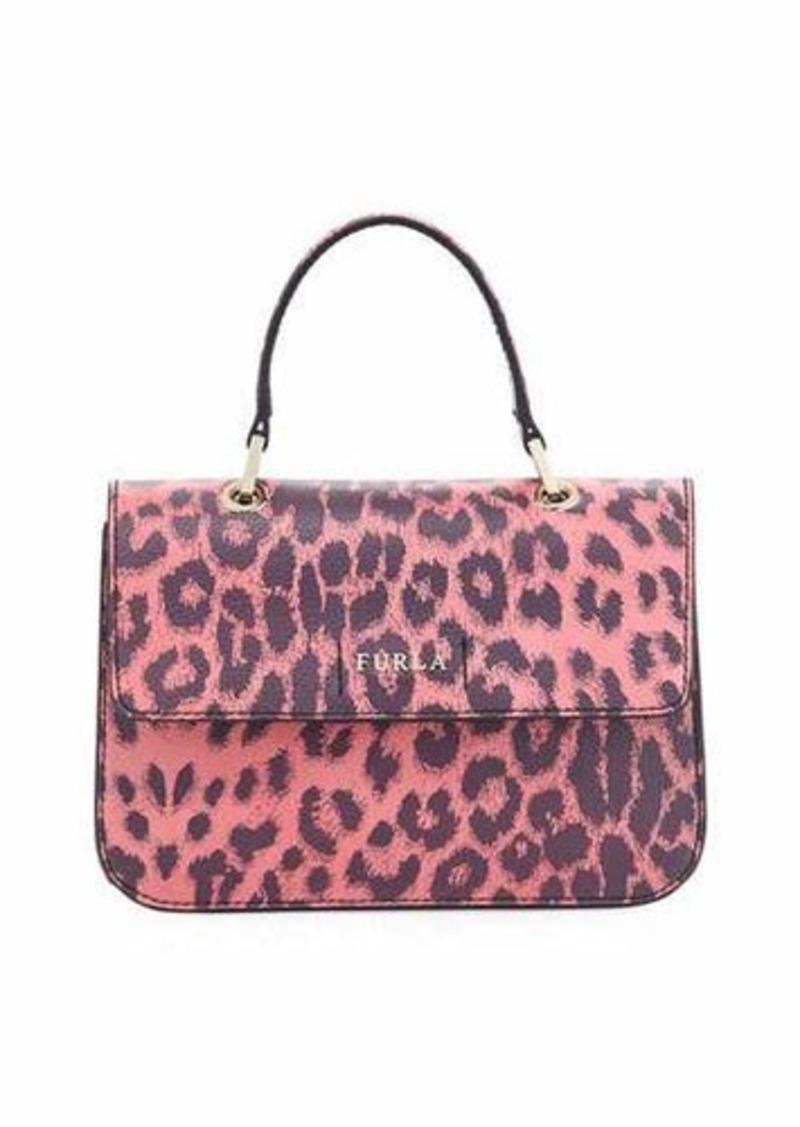 26808c5c3f9e Furla Furla Ottavia Small Leopard Top Handle Bag | Handbags