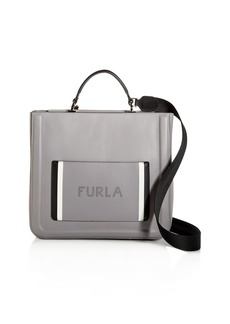 Furla Reale North South Large Convertible Leather Tote