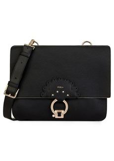 Furla Scoop Leather Shoulder Bag