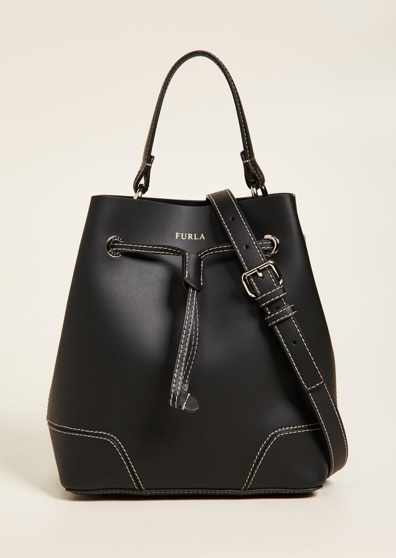 Furla Stacy Small Drawstring Bag
