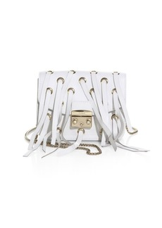 Furla Strappy Leather Crossbody Bag