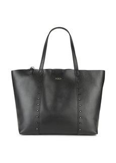 Furla Elle Rock Studded Leather Tote